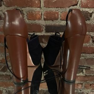 Aquazzura Shoes - Aquazzura Suede Platforms 8.5